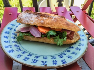 Sandwich fusion, comme un Bánh mì
