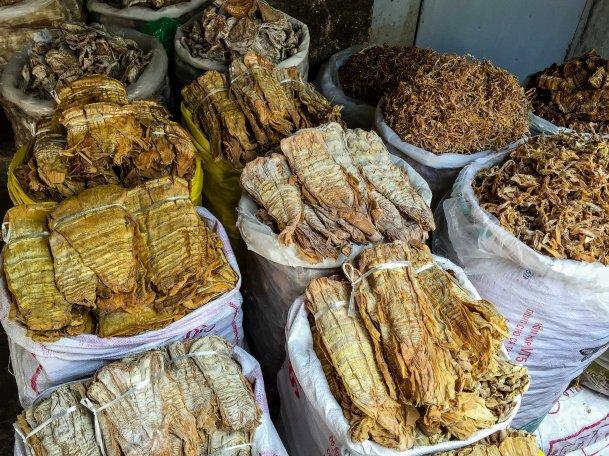 Bambou séchés