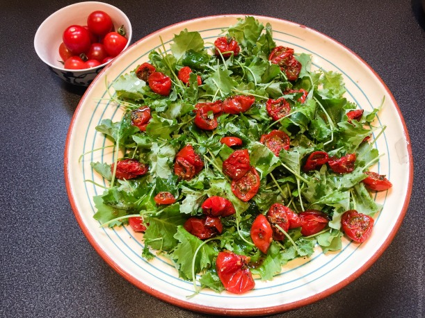Cueillette Tomates cerises confites