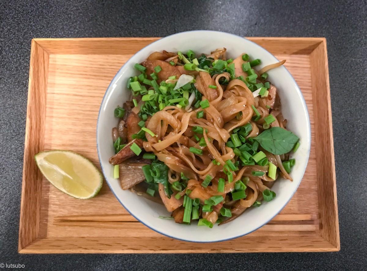 Mon wok Vietnamien – Nouille Pho sautées au seitan et aux ...